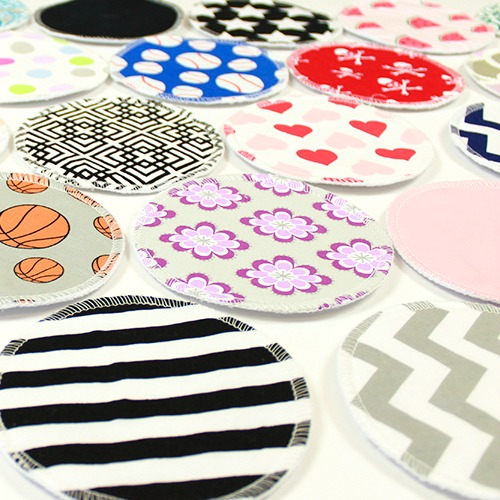 Cotton Washable Breast Pads
