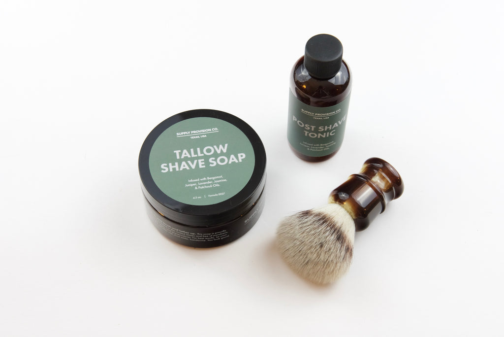 SUPPLY Shave Accessories Set