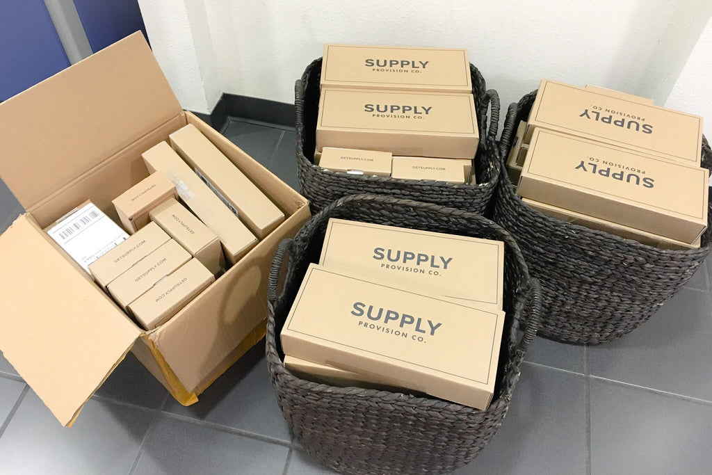 Supply shipments on their way