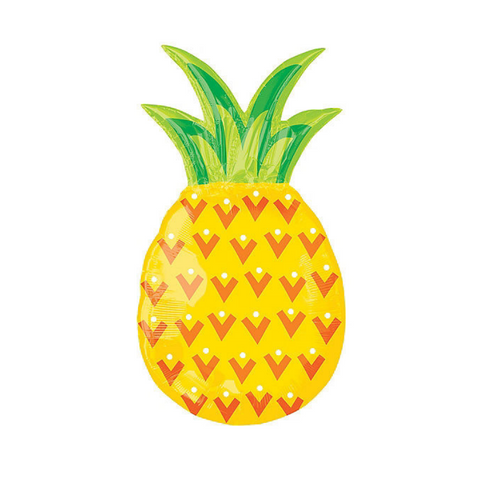 Pineapple Supershape Foil Balloon, 31'' | 1 ct