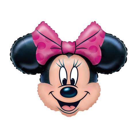 Minnie Mouse Shape Mylar Balloon, 23'' x 28'' | 1 ct
