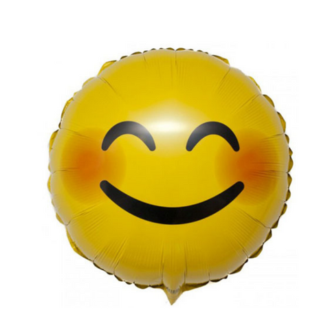 Smiley Emoji Mylar Balloon, 18'' | 1 ct