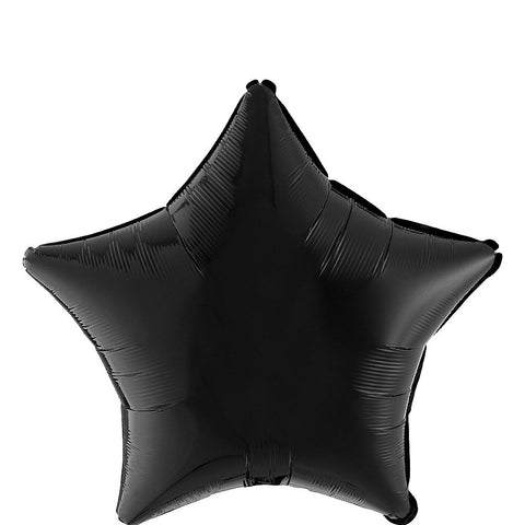 Black Star Balloon, 18'' | 1 ct