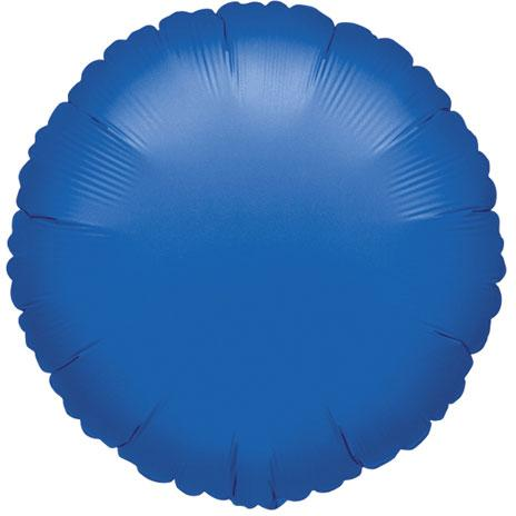 Royal Blue Round Balloon, 18'' | 1 ct