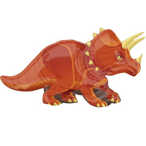 Triceratops Supershape Balloon, 42'' | 1 ct