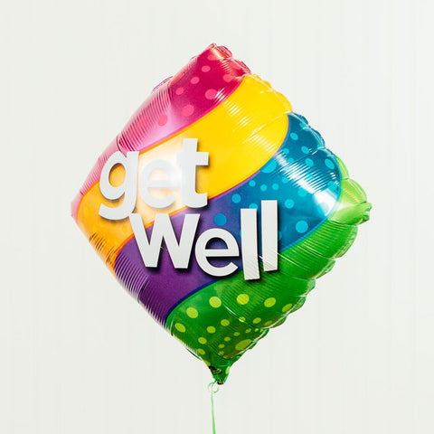 Get Well Mylar Balloon, 18'' | 1 ct