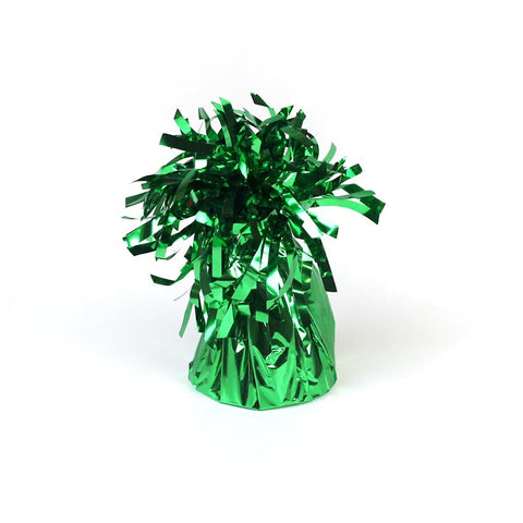 Balloon Weight, Small Green Foil | 1ct.