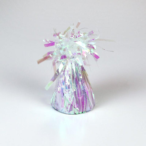 Balloon Weight, Small Iridescent Foil | 1ct.
