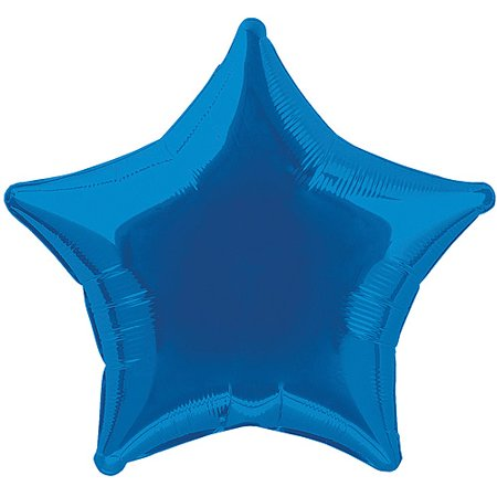 Blue Star Balloon, 18'' | 1 ct