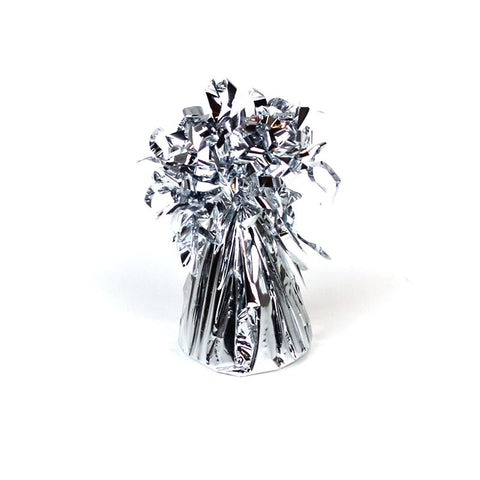 Balloon Weight, Small Silver Foil | 1ct.