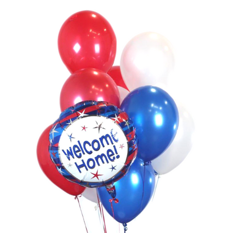 Welcome Home Patriot Balloon Bouquet