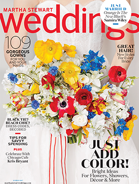 Martha Stewart Weddings June 2017