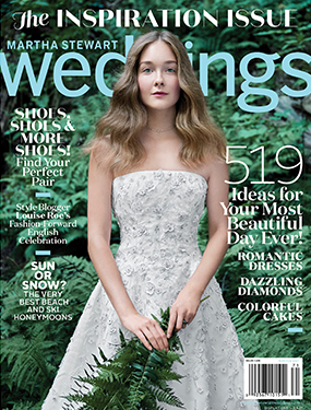 Martha Stewart Weddings Winter 2017