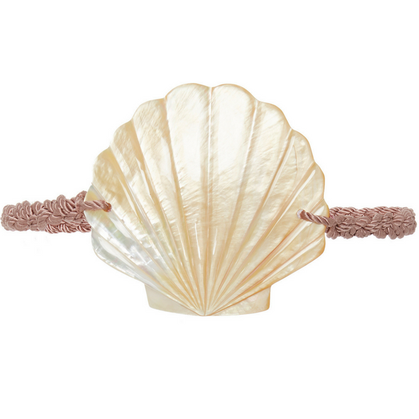 Ariel Belt - Mother of Pearl and Pink - Rebecca de Ravenel LLC, A Delaware Limited Liability Company