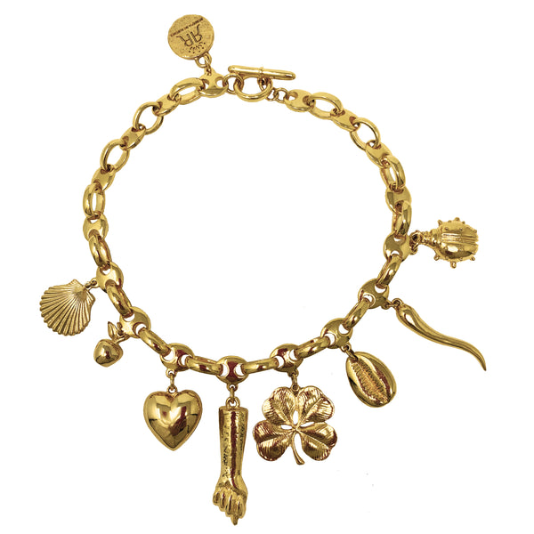 All My Lucky Stars Bracelet - Gold - Rebecca de Ravenel LLC, A Delaware Limited Liability Company