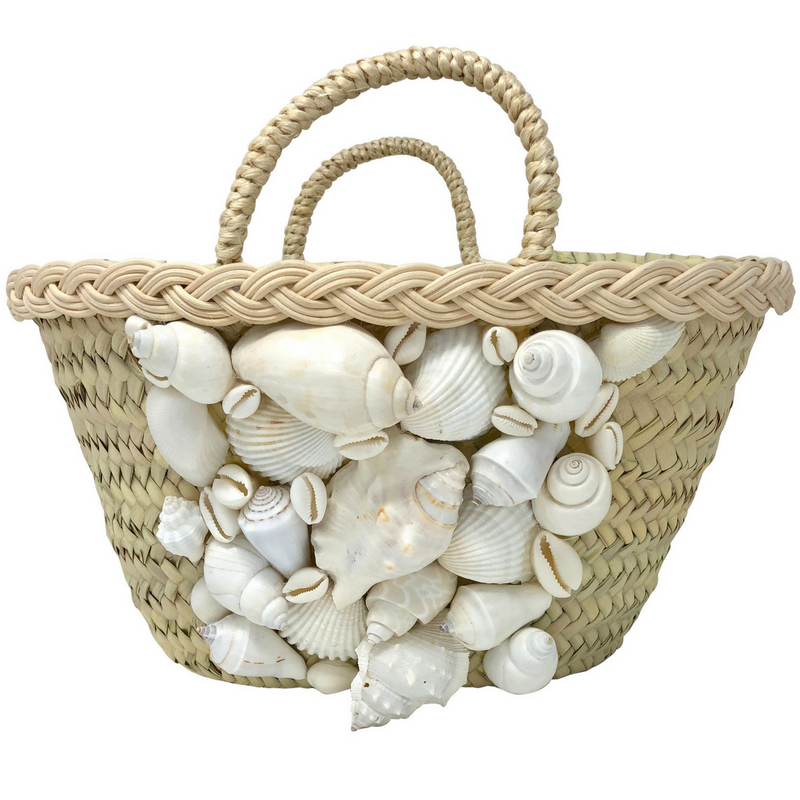 She Sells Seashells Bag - White - Rebecca de Ravenel LLC, A Delaware Limited Liability Company