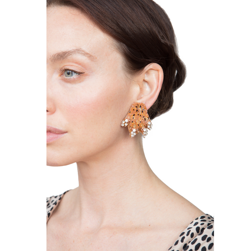 Lea Paw Earrings - Rebecca de Ravenel LLC, A Delaware Limited Liability Company