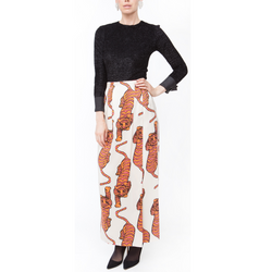 Tiger Wrap Skirt - Rebecca de Ravenel LLC, A Delaware Limited Liability Company