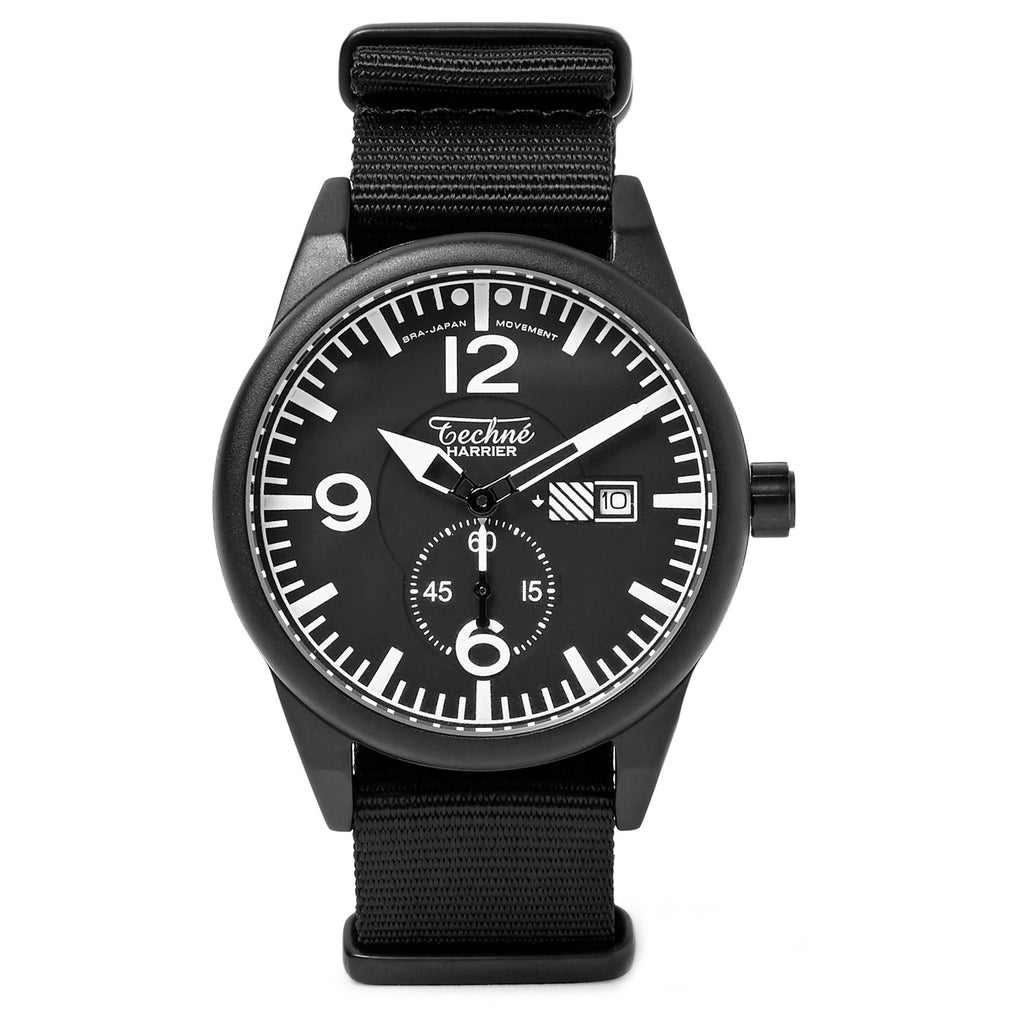 Harrier 386 Aluminium / Nylon Watch