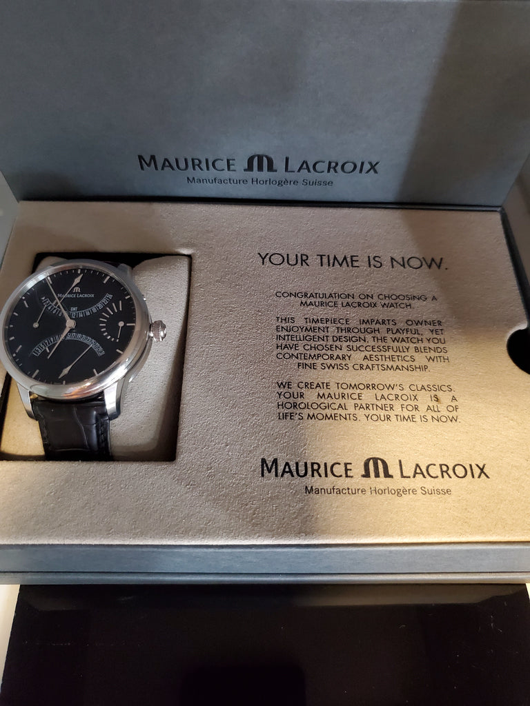 Marice Lacroix Masterpiece Calendrier Retrograde Watch MP6518