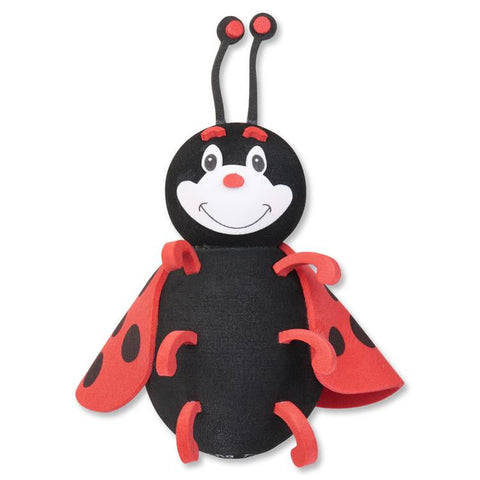 Tenna Tops Cute Ladybug Car Antenna Topper / Desktop Spring Stand Bobble (2019 Style)