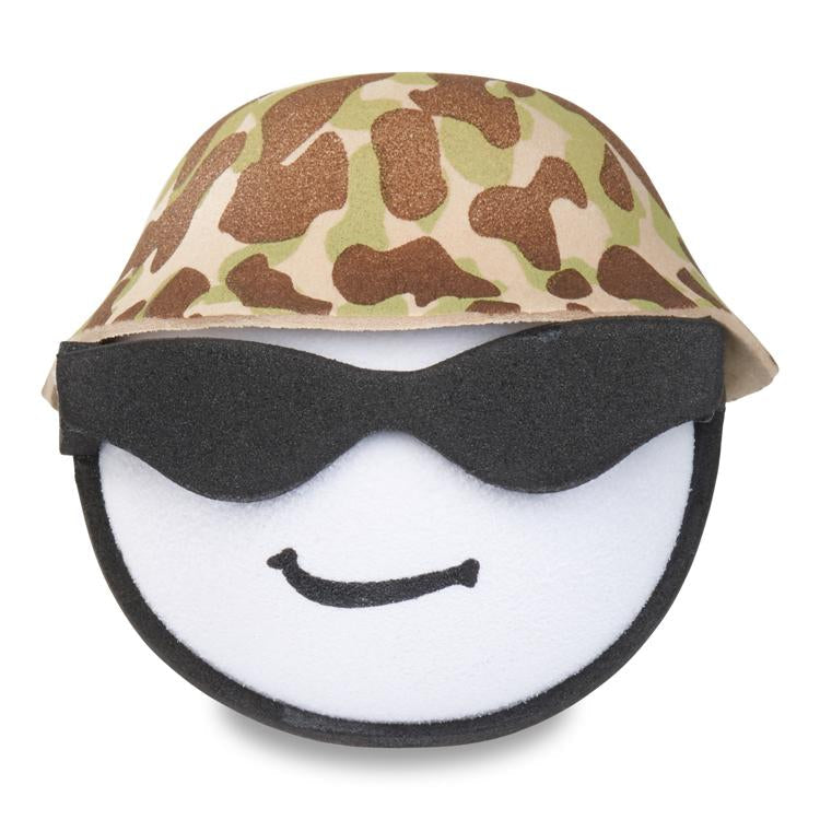 Coolballs U.S. Marine / Army Military Guy w/ Sunglasses Car Antenna Topper