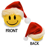 HappyBalls Winter Happy Face Santa Antenna Topper / Mirror Dangler / Desktop Spring Stand