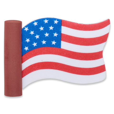 Coolballs American USA Wavy Waving Flag Car Antenna Topper / Desktop Spring Stand Bobble