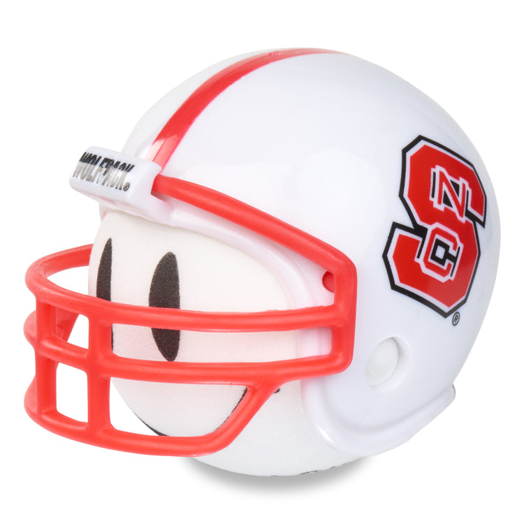 NC State Wolfpack Football Car Antenna Topper / Desktop Spring Stand Bobble (White Smiley)