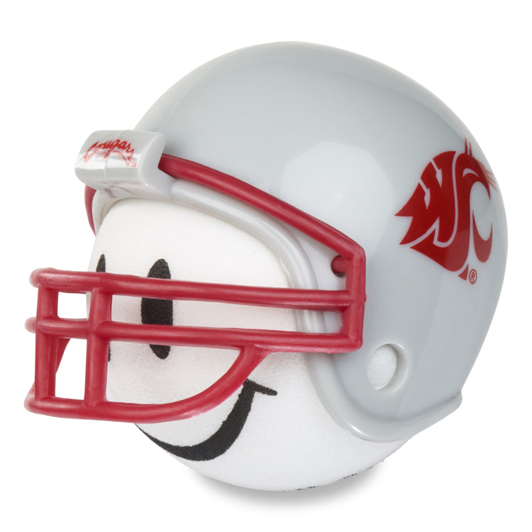 Washington State Cougars Football Car Antenna Topper (White Smiley)
