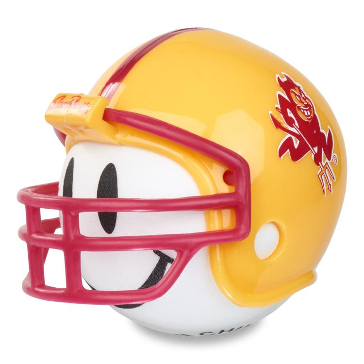 Arizona State Sundevils Football Car Antenna Topper (White Smiley)