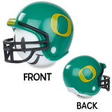 Oregon Ducks Football Car Antenna Topper / Desktop Spring Stand Bobble White Smiley)