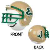 South Florida Bulls Helmet Head Team Car Antenna Topper / Desktop Bobble Buddy (College Football)