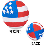 Coolballs American USA Patriotic Flag (2 Sided) Car Antenna Ball / Desktop Spring Stand Bobble