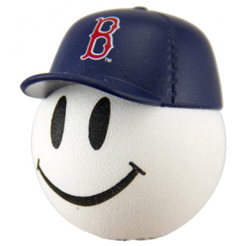 Boston Red Sox Cap Head Car Antenna Topper / Desktop Spring Stand Bobble Buddy (MLB Baseball)