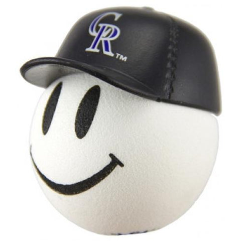 Colorado Rockies Cap Head Car Antenna Topper / Desktop Bobble Buddy (MLB Baseball)