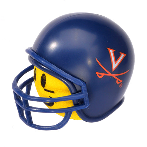 Virginia Cavaliers Helmet Head Team Car Antenna Topper / Desktop Bobble Buddy (College Football)(Yellow Face)