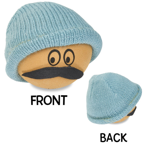 Coolballs Cool Beanie Dude Car Antenna Topper / Desktop Spring Stand Bobble