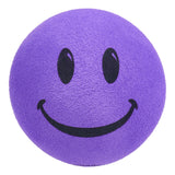 ..HappyBalls Happy Smiley Face Car Antenna Topper / Desktop Spring Stand (Lavender)