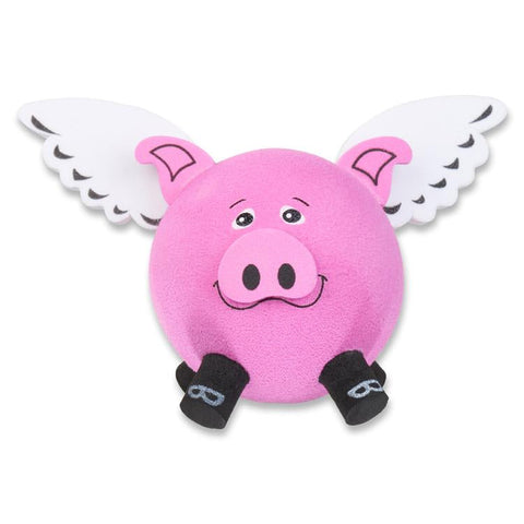 Tenna Tops Flying Pig Antenna Topper / Mirror Dangler / Desktop Spring Stand Bobble Buddy