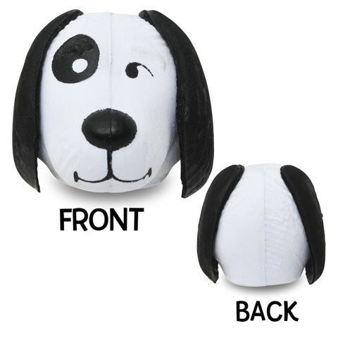 Coolballs Cool Doggie Car Antenna Topper / Desktop Spring Stand Bobble (White)