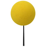 Coolballs Plain Yellow Car Antenna Ball