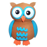 Tenna Tops Cute Blue Owl Car Antenna Topper / Desktop Spring Stand Bobble