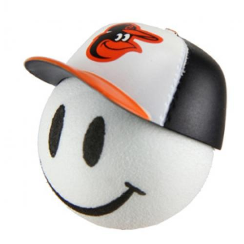 Baltimore Orioles Cap Head Car Antenna Topper / Desktop Spring Stand Bobble Buddy (MLB Baseball)
