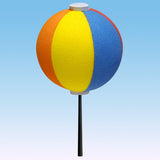 HappyBalls Fun Beach Ball Car Antenna Topper / Desktop Bobble Buddy