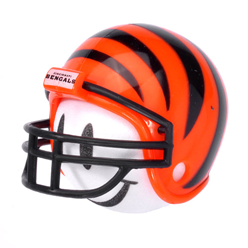 Cincinnati Bengals Helmet Head Team Car Antenna Topper / Desktop Bobble Buddy (NFL Football)