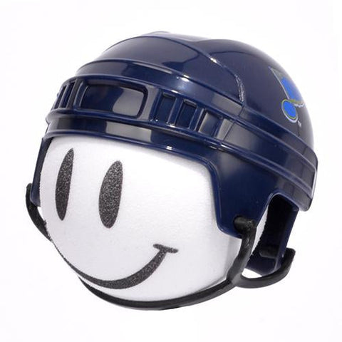 St. Louis Blues Helmet Head Car Antenna Topper / Desktop Spring Stand Bobble Buddy (NHL Hockey)