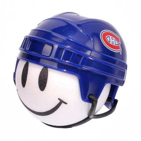 Montreal Canadiens Helmet Head Car Antenna Topper / Desktop Bobble Buddy (NHL Hockey)