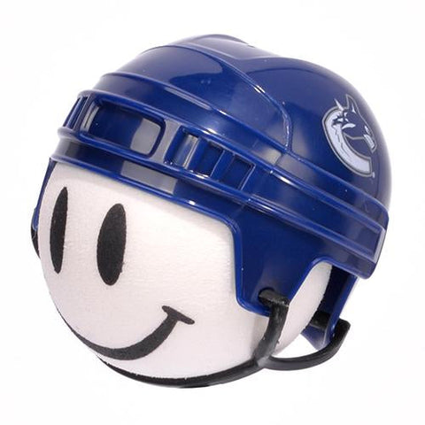 Vancouver Canucks Helmet Head Car Antenna Topper / Desktop Spring Stand Bobble Buddy (NHL Hockey)