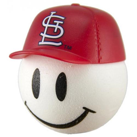 St. Louis Cardinals Cap Head Car Antenna Topper / Desktop Spring Stand Bobble Buddy (MLB Baseball)